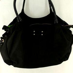 Kate Spade Stevie Baby Black Diaper Bag